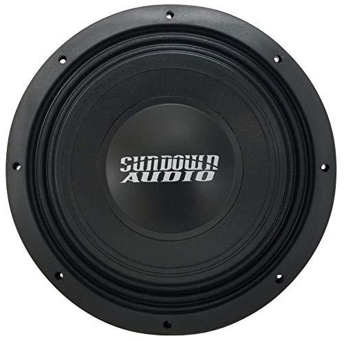 "SUNDOWN AUDIO SD-4 12 D4 12"" 600W RMS Dual 4-OHM Shallow SUBWOOFER Speaker New"