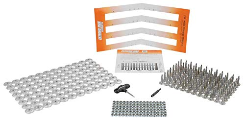 Extreme Max 5001.5463 96-Stud Track Pack with Round Backers, 1.00