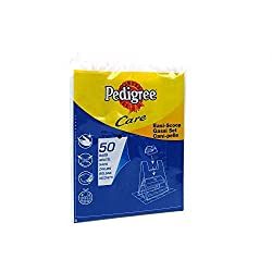Replacement poo bags for the Pedigree Easi Scoop. Each individual pack contains 50 bags.