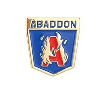 Ingress[イングレス] Abaddon XM Anomaly ファンアート25㎜ ピンバッジ