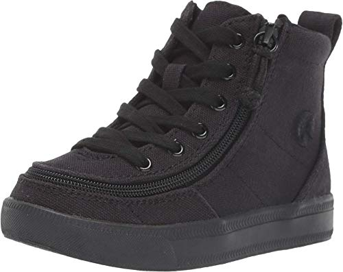 BILLY Footwear Classic Lace High (Toddler) Black to The Floor Canvas 10 Toddler M