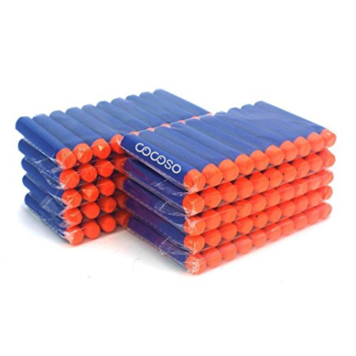 COSORO 7,2cm New Design TPR Refill Foam Bullet Darts für Nerf N-Strike Elite Series Blastern Kid Spielzeug Gun