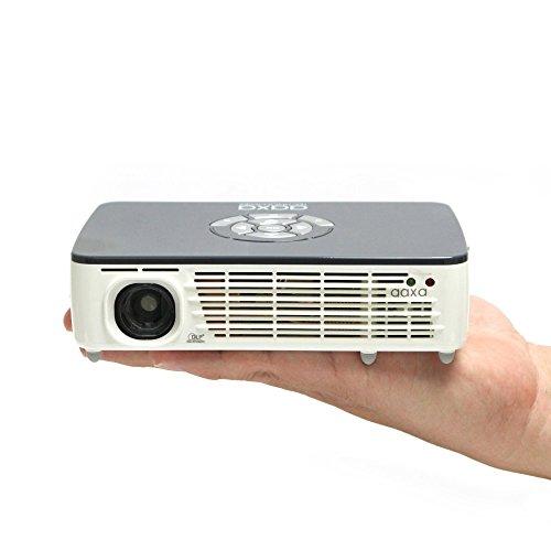 AAXA P450 Pico/Micro Projector with LED, WXGA 1280x800 Resolution, 450 Lumens, Pocket Size, HDMI, Mini-VGA, 15,000 Hour LED Life, Media Player, DLP Projector Photo #7