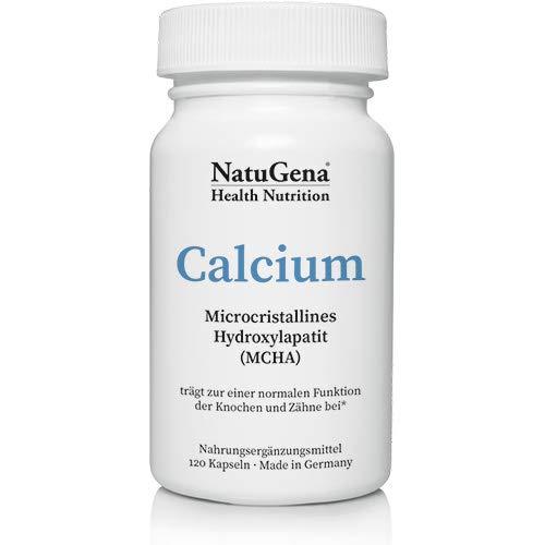 NautGena Calcium MCHA, Microcristallines Hydroxylapatit, stärkt Knochen, Nägel und Zähne, 120 Kapseln