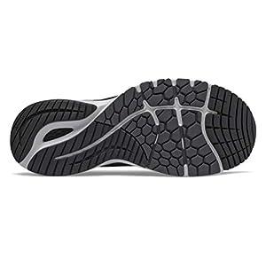 New Balance Men's Fresh Foam 860v11, Black/White, 12 Medium