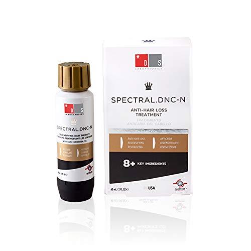 DS Laboratories Spectral DNC-N - Tratamiento Anti-Caída De Cabello con Nanoxidil 60ml - Combate La Alopecia y Proporciona Más Volumen Al Cabello