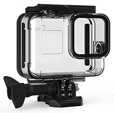 F1TP Waterproof Case Accessories for GoPro Hero 8 Black Action Camera, 60M/196ft Underwater Protective Diving Housing Shell, with Quick Release Mount and Thumbscrew. from FIT-POWER