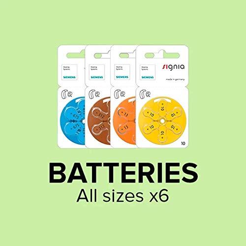 Siemens Hörgeräte Batterien 1,45V 170mAh - PR 41 P312MF 312
