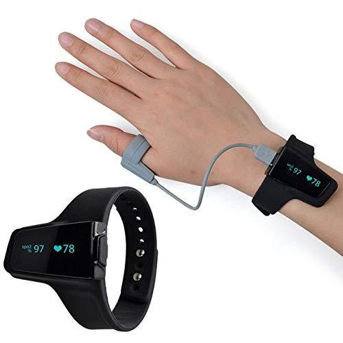 Monitor De Oxígeno Del Sueño Con Alerta De Vibración Para Ronquidos...