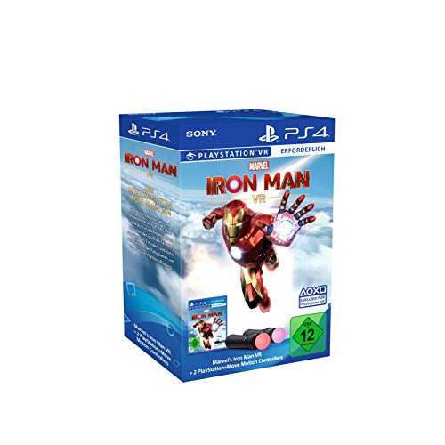 Marvel's Iron Man VR + Move Motion-Controller - Twin Pack Bundle