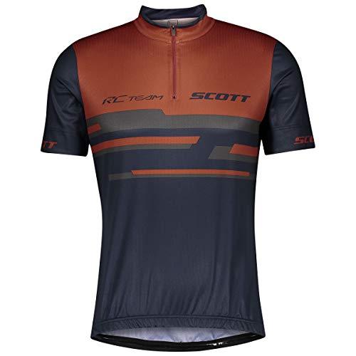 Scott RC Team 20 Fahrrad Trikot kurz rost rot/blau 2021: Größe: XXL (58)