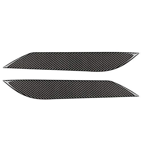 DINGZH-HANGZH 2PCS Autoaufkleber Kohlefaser Scheinwerfer Augenbrauen Augenlider Trim Augenlidabdeckung Kompatibel Für Nissan 350Z 2003-2009 Dekorative Abdeckung Zubehör (Color : A)
