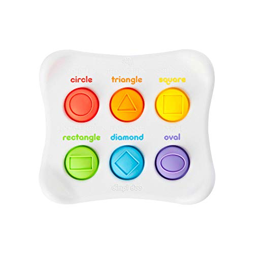 Fat Brain Toys Dimpl Duo Baby Toys & Gifts for Ages 1 to 2
