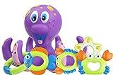 MOOKLIN ROAM Juguete de Bao Pulpo Flotante con Anillos para 18M+ Beb ucha de Nios Bao de Burbujas