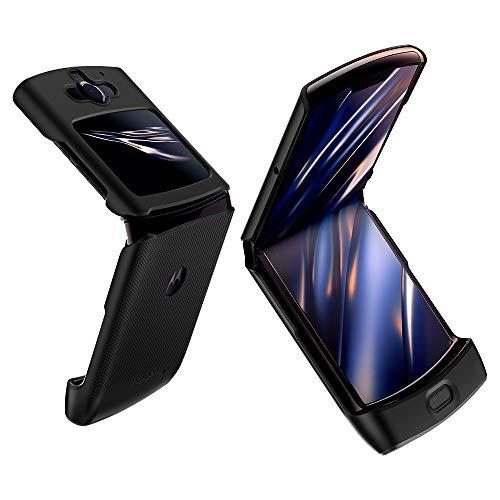 Spigen Thin Fit Hülle Kompatibel mit Motorola Razr -Schwarz
