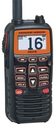 Standard Horizon HX210 HX210 6W Compact Floating Marine Handheld Vhf