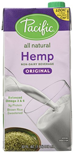 Pacific Natural Foods - All Natural Hemp Milk Original - 32 Oz.