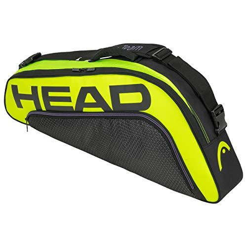 Head Tour Team Extreme 3R Pro Bolsa de Tenis, Adultos Unisex, Negro/Neon Amarillo