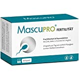 MascuPRO Fertilität Mann - Fruchtbarkeit - Spermienproduktion + 60 Kapseln +...