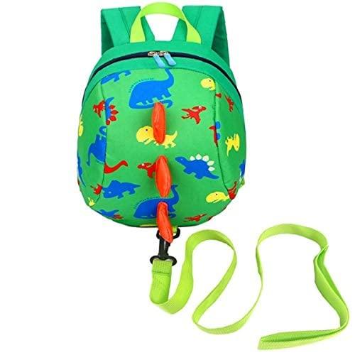 MINGPAI Mini mochila para niños con cinturón, mochila para bebé con bandolera para niños (2,27 * 23 * 11CM)