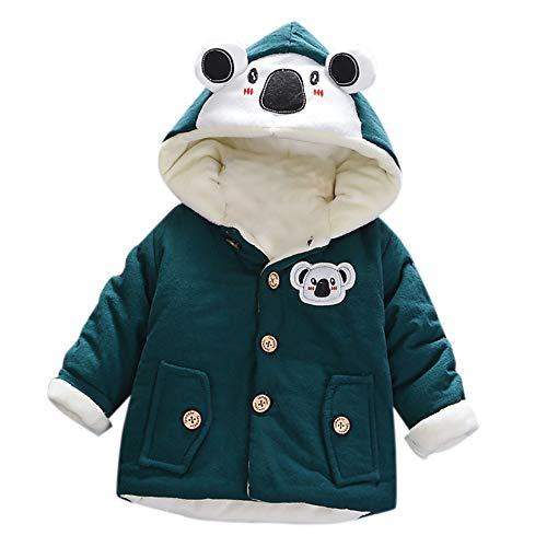 Hawkimin_Babybekleidung Hawkimin Kleinkind Baby Jungen Mädchen Herbst Winter Mit Kapuze Mantel Dicke Warme Kleidung