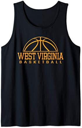 West Virginia Basketball Player W Va Team Mountaineer State Tank Top product image