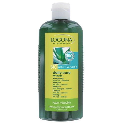 Logona - 1011sha - Daily Care - Soin et Beauté du Cheveu - Shampooing Aloès Bio / Verveine - 250 ml