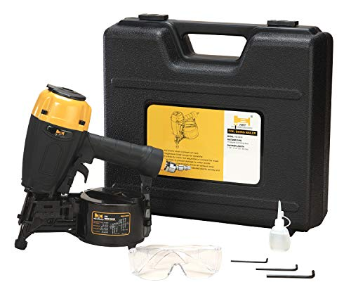 HBT HBCN65P 15 Degree Coil Siding Nailer with Magnesium Housing,...