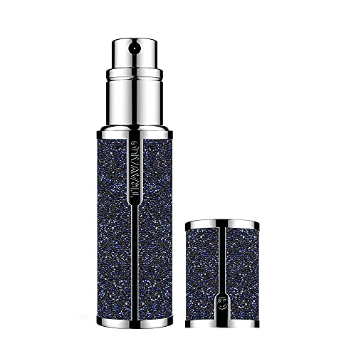 Travalo Couture Swarovski Parfum Atomizer Moonlight for Unisex Rechargeable Spray Vide 0,17 oz 1 Unité