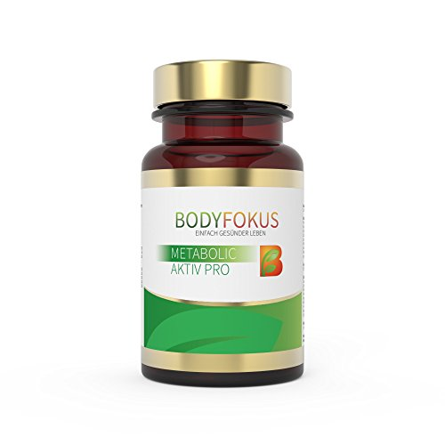 BodyFokus Metabolic Aktiv Pro: Energiestoffwechsel - 1 Dose