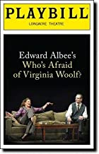PLAYBILL - Edward Albee's Who's Afraid of Virginia Woolf? - Longacre Theatre, New York