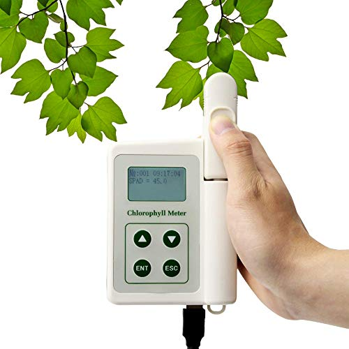 TYS-A Chlorophyll Detector,Portable Chlorophyll Analyzer,Hand-held Chlorophyll Meter for Testing Plant Chlorophyll Nitrogen Content,Measuring area 2mm * 2mm