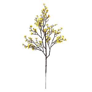 AOKID Artificial Flowers, Artificial Silk,Gypsophila Simulation Plant Artificial Flower Ornament Wedding Home Decoration