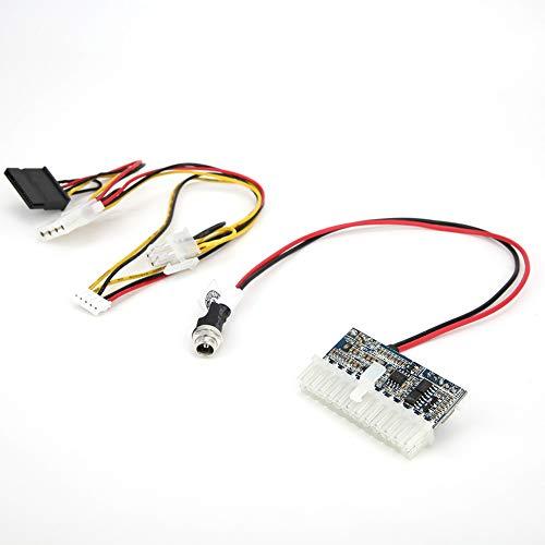 Jeanoko 20a 11.4‑13V 24 24 de componentes electrónicos 24 pines 180W con cable de conexión