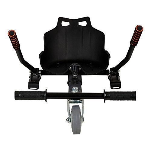 Gyrowheel HKN Kit de Kart pour Hoverboard Mixte Enfant, Noir