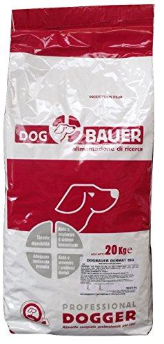 DOG BAUER alimentazione di ricerca Dermat Big - (Crocchetta Grossa) (20Kg)