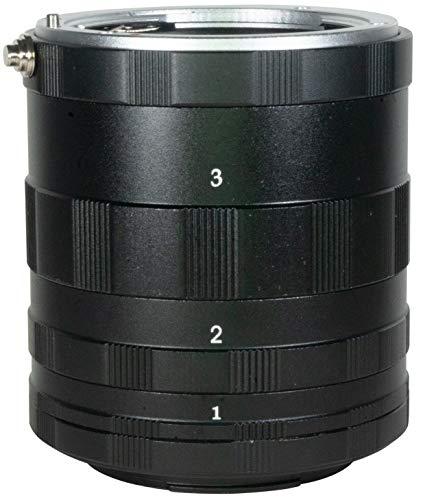 Macro - Tubo de extensión AI para Nikon F D850 D750 D810 D800 D700 D610 D7500 D7200 D7100 D7000 D5600 D5500 D5300 D5200 D5100 D5000 D3500 D3400 D3300 D3200 D3100 D3000 D5 D4 D3 DF D90 D200 D300S