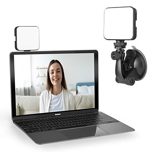Luz para videoconferencia | Kit de iluminación de videoconferencia | Cube Laptop Computer Webcam Light for Video Conferencing – Self Broadcast – Zoom Call Meeting – Microsoft Teams – Live Streaming