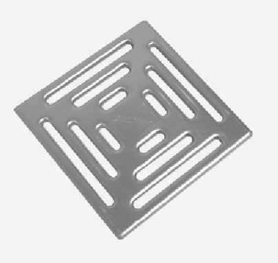 Upmann Edelstahlrost 140x140 mm, poliert 80213