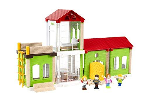 BRIO World 33941 - Village Familienhaus, bunt