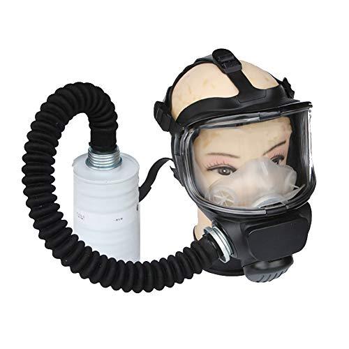 Mascarilla antipolvo de cara completa con filtro pulverizador de pintura máscara profesional...
