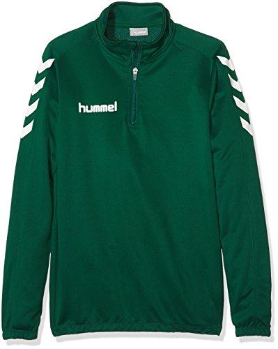 Hummel Jungen Sweatshirt Core 1/2 Zip, Evergreen, 164-176