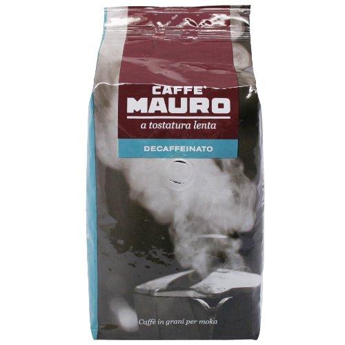 Mauro Kaffee Espresso - Decaffeinato Koffeinfrei, 500g Bohnen