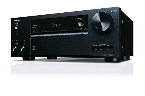 Onkyo TX-NR676E(B) Récepteur AV 7.2 canaux (165 W/Kanal, Multiroom, Dolby Atmos/DTS: X, WiFi, Bluetooth, Services de Streaming Spotify, Deezer, Radio, Entrée Audio/HDMI Avant), Noir