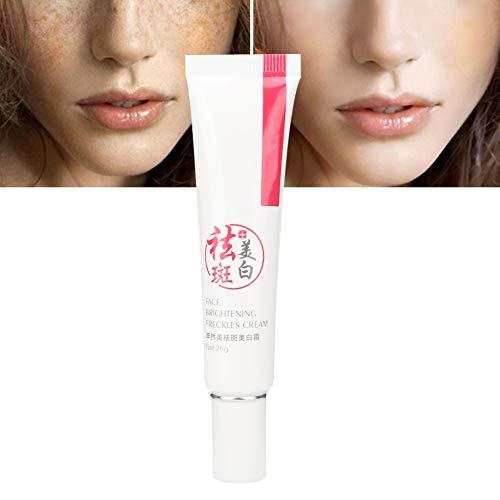 whitening cream, Sommersprossencreme, Creme zur Reduzierung von Flecken, Hautaufhellungscreme Anti Falten Feuchtigkeitscreme Hautpflege Geeignet für dunkle Haut Achseln Ellbogen Nacken