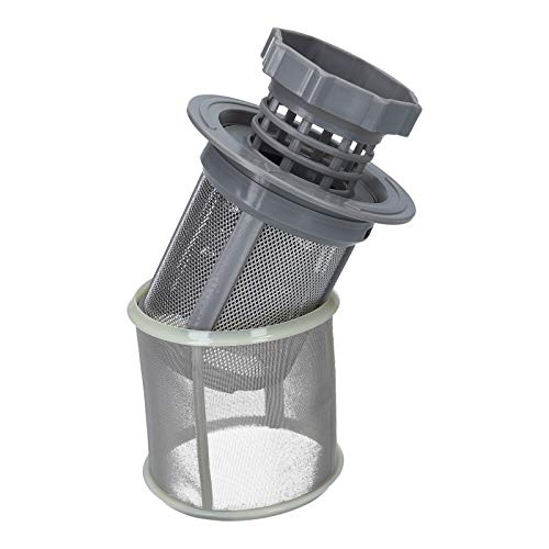 DL-pro Colador adecuado para Bosch Siemens Neff Constructa Balay Gaggenau Set fino + grueso como 10002494 / 427903 / 00427903 para lavavajillas 3 piezas