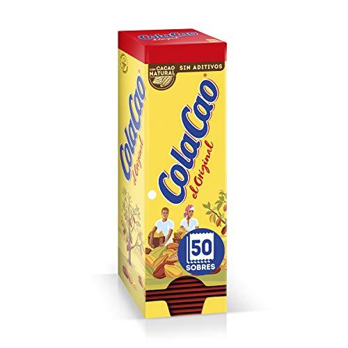 ColaCao Original: Con Cacao Natural - 50 Sobres De 18G 'Faro'