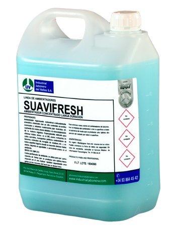 SUAVIFRESH 5 L: Ambientador concentrado higienizante larga duración olor suavizante …