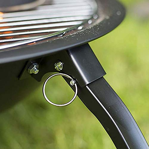 41sTBpn6LAL - X&JJ Tragbare BBQ Grill, Feuerstelle Herd japanische Art-Aluminiumlegierung Charcoal Grill Grill Zubehör Barbecue-Ofen
