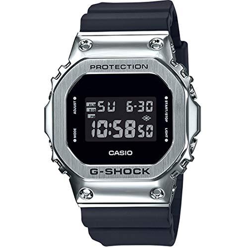 Men's Casio G-Shock Digital Stainless Steel Metal Bezel Watch GM5600-1